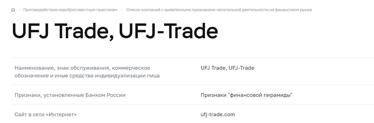 Разоблачение UFJ-Trade, Фото № 6 - 1-consult.net