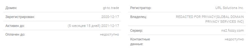 Наглый обман от GTTC Trade, Фото № 4 - 1-consult.net