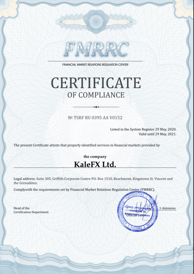 Вся информация о брокерской конторе KaleFx, Фото № 3 - 1-consult.net