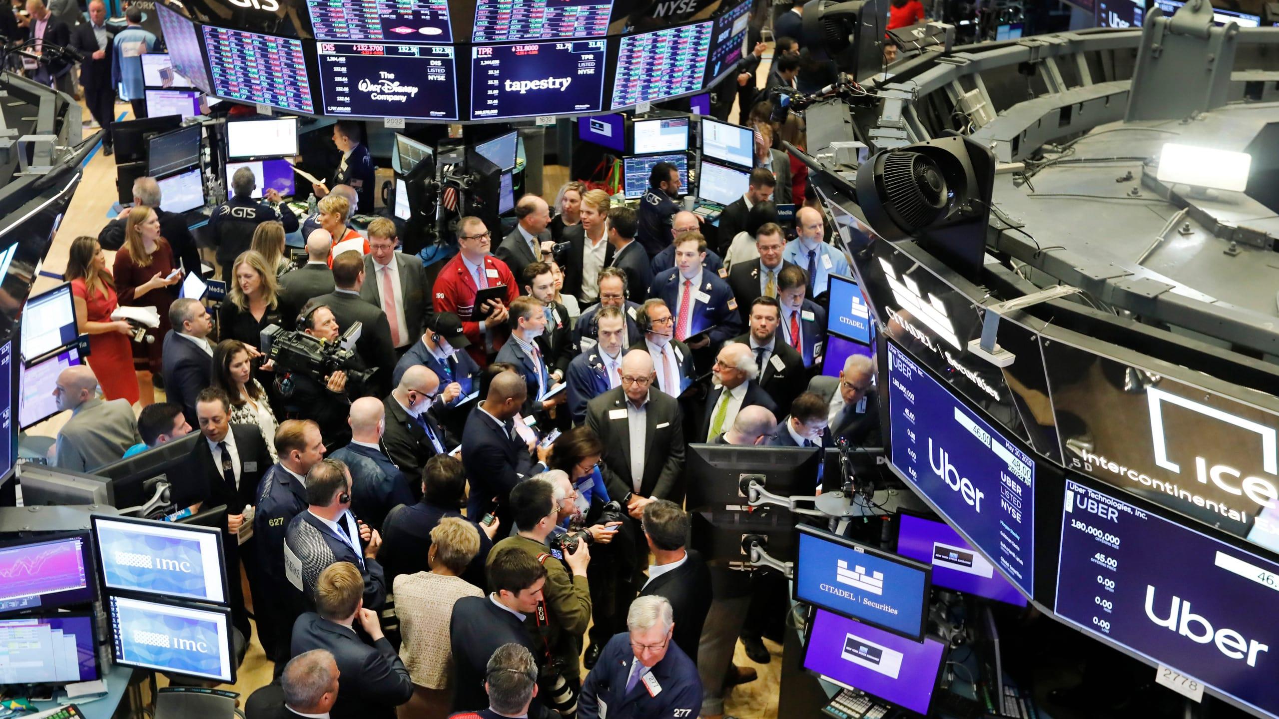 Изображение Американский фондовый рынок: лидеры роста и лидеры падения