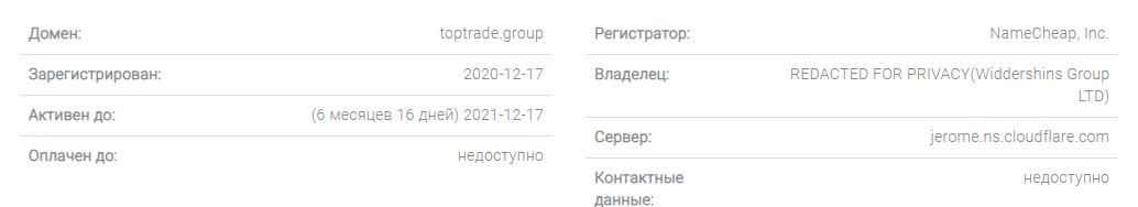 Top Trade Group - примитивный обман, Фото № 4 - 1-consult.net