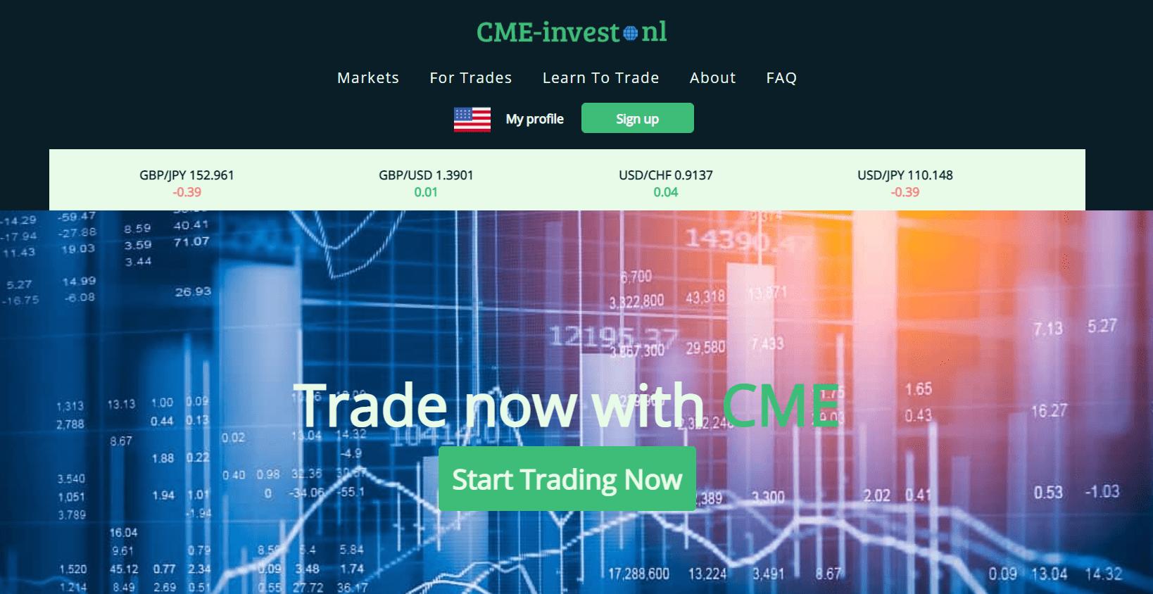 Подробный обзор брокера CME-invest.nl, Фото № 1 - 1-consult.net
