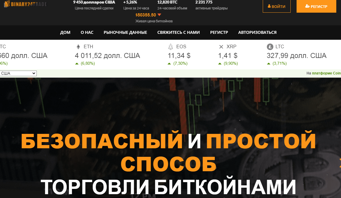 Обман на торговле биткоинами - Binary 247 trade, Фото № 1 - 1-consult.net