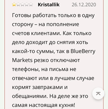 Анализ компании BlueberryMarkets, Фото № 5 - 1-consult.net