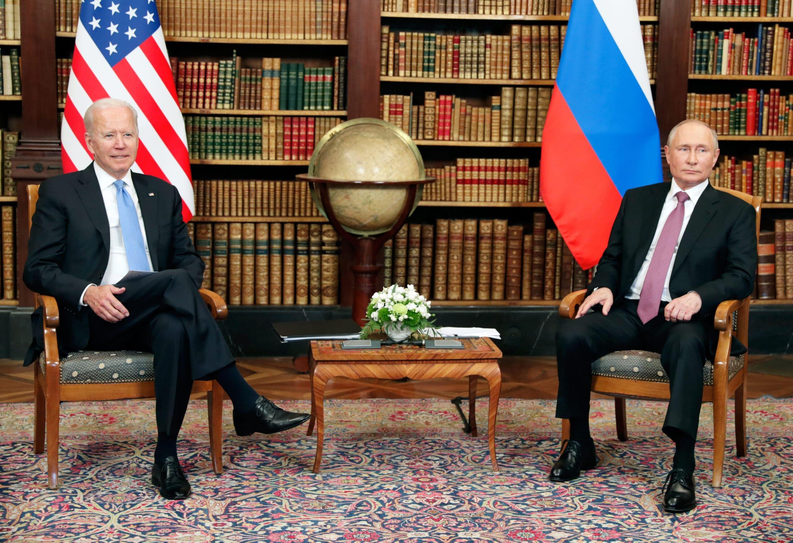 Изображение Перспективы рубля после встречи Путина и Байдена