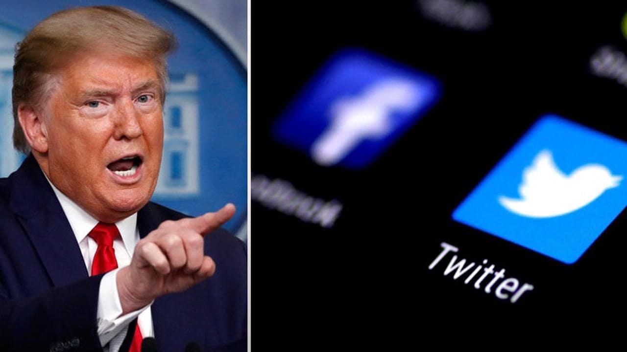 Изображение Трамп собирается судиться с Twitter и Facebook