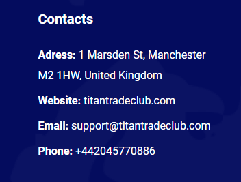 Полный обзор брокера Titan Trade Club, Фото № 6 - 1-consult.net