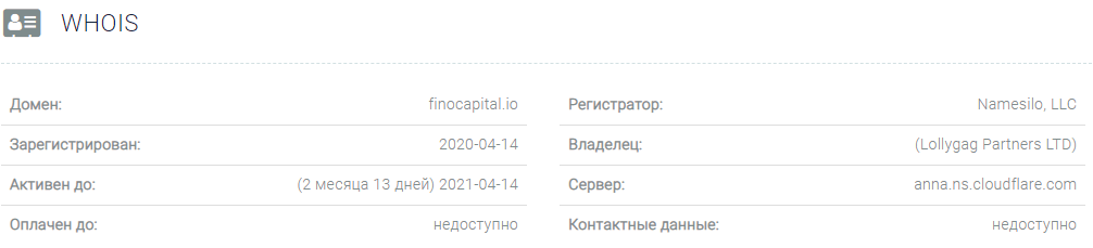 Полный обзор брокера Fino Capital, Фото № 2 - 1-consult.net