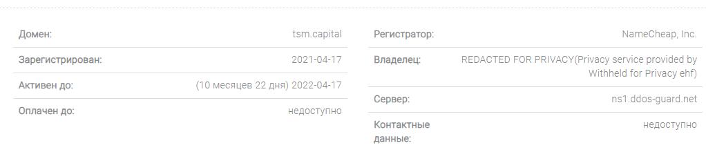 TSM capital - автоматическая финансовая пирамида, Фото № 3 - 1-consult.net