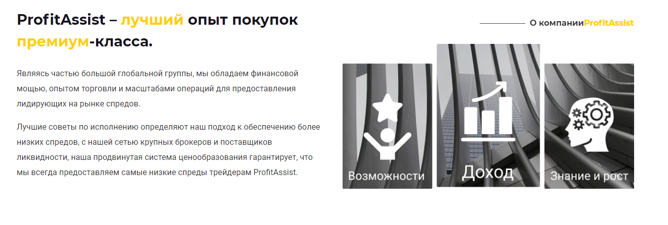 Мошенник-брокер Profit Assist, Фото № 2 - 1-consult.net