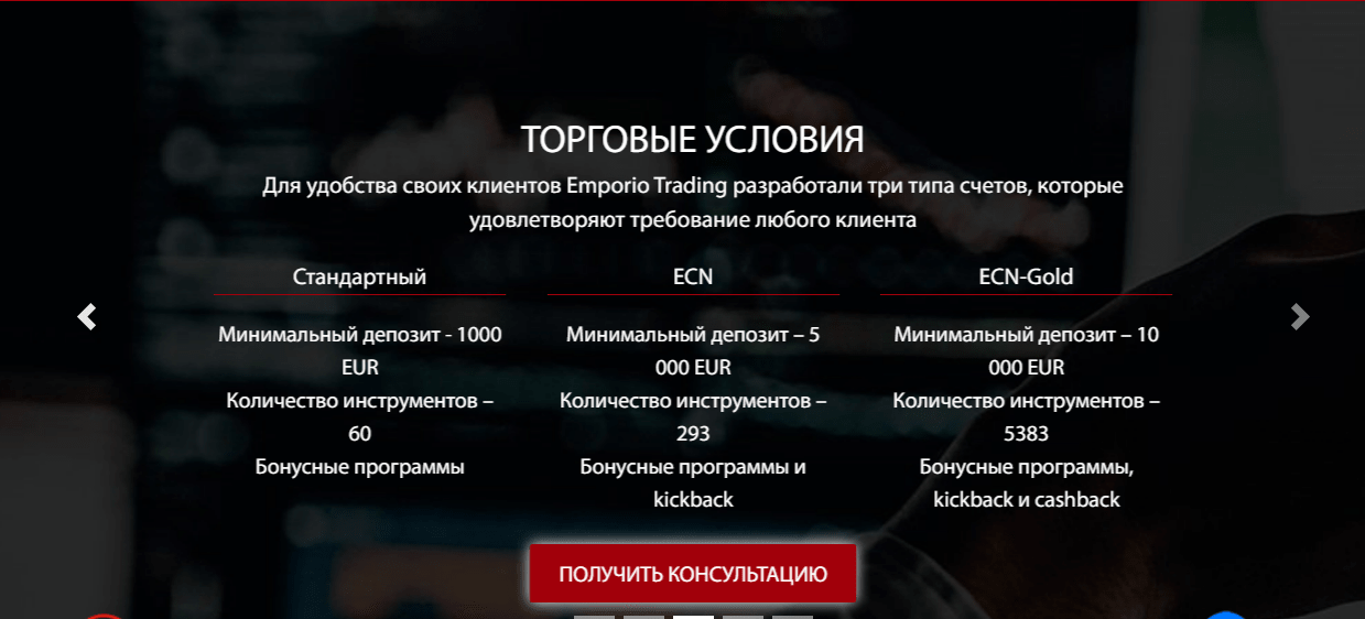 Вся информация о компании Emporio Trading, Фото № 4 - 1-consult.net