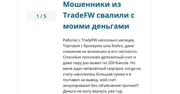 Детальное изучение компании Trade FW, Фото № 6 - 1-consult.net