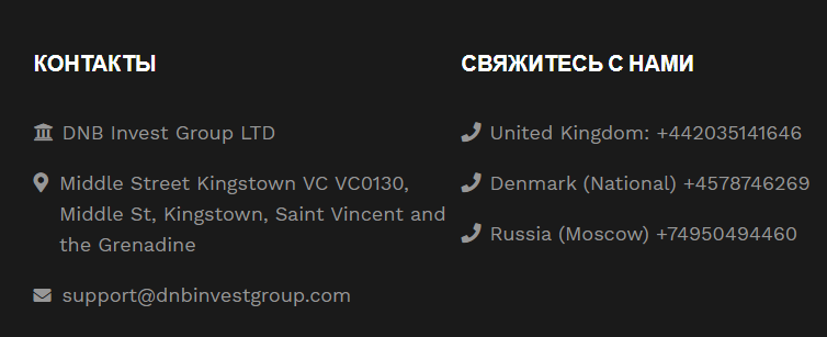 DNB Invest Group - брокер-кухня, Фото № 2 - 1-consult.net