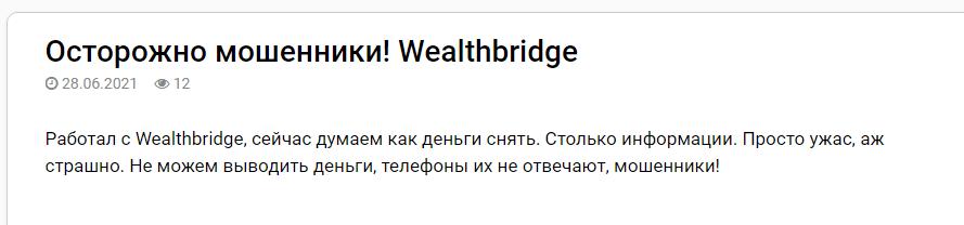 Вся информация о компании Wealthbridge, Фото № 4 - 1-consult.net