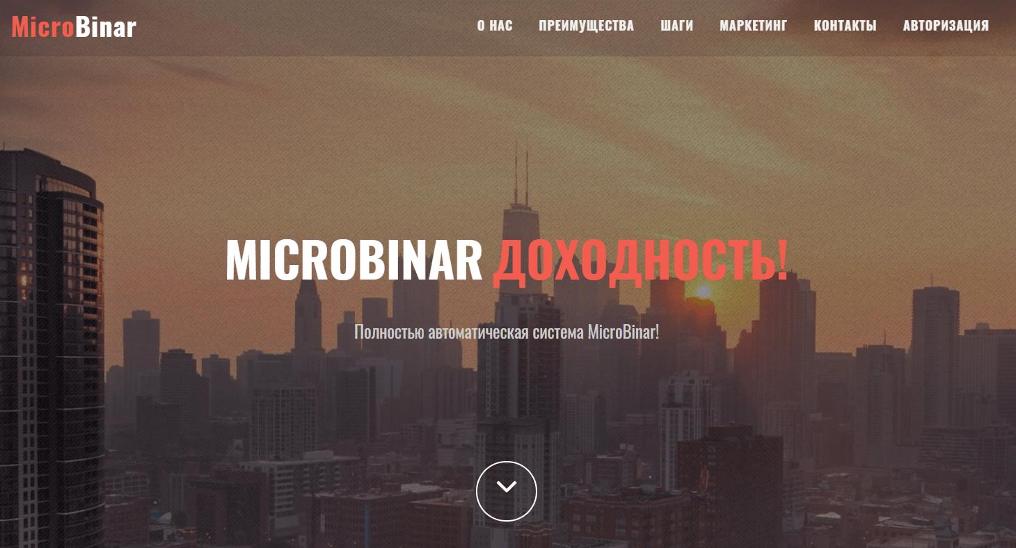 Подробная информация о партнерской программе MicroBinar, Фото № 1 - 1-consult.net