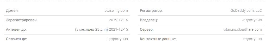 BTCSwing - все о криптовалютном брокере, Фото № 4 - 1-consult.net